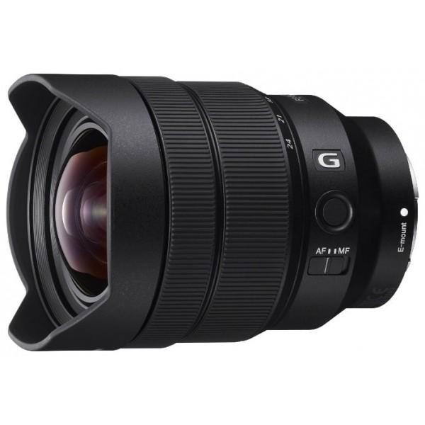 Объектив Sony FE 12-24mm f/4 GПоддержка сверхширокого угла для создания динамического пространственного изображения. Этот сверхширокоугольный зум-объектив 12–24 мм имеет самое малое фокусное расстояние среди полнокадровых объективов с байонетом E и разрешение G Lens по всей площади кадра при любых настройках диафрагмы. Он идеально подойдет для съемки пейзажей и архитектуры. Компактные размеры, а также тихая, быстрая и точная автофокусировка, делают этот объектив отличным решением для съемки фильмов и фото.<br><br>Вес кг: 0.60000000
