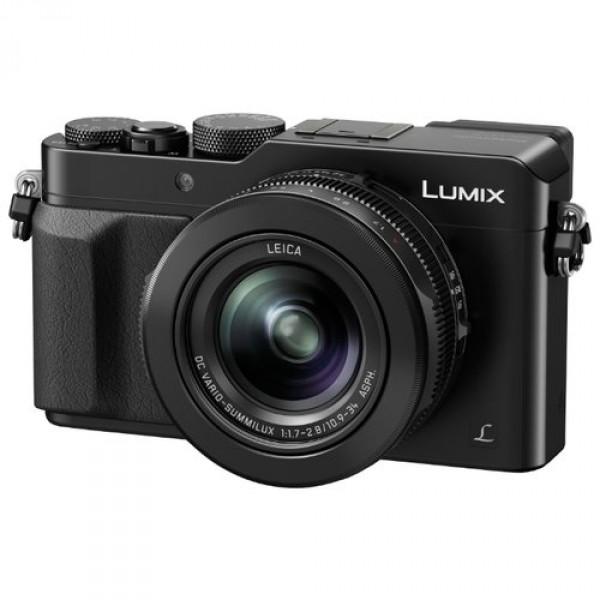 Фотоаппарат Panasonic Lumix DMC-LX100 компактныйВысокочувствительный MOS-сенсор размером 4/3 дюйма. Фотокамера DMC-LX100 разработана для передачи поразительной градации тонов и богатых текстур во всей их естественной красоте. Фотокамера оснащена новым большим высокочувствительным MOS-сенсором размером 4/3 дюйма с поддержкой различных соотношений сторон. При использовании разрешения в 12,8 мегапикселей* (соотношение сторон 4:3) выполняется регулировка объема поступающего света для улучшения отношения «сигнал-шум». Это дает возможность получать четкие изображения с минимальным шумом даже при ISO25600. Куда бы вы не направлялись, возьмите с собой фотокамеру DMC-LX100, обеспечивающую непревзойденное качество изображения в компактном корпусе.<br><br>* Общее количество мегапикселей матрицы составляет 16,8 мп.<br><br>Специально разработанный объектив LEICA DC VARIO-SUMMILUX отличается оптимизированной оптической системой, состоящей из 5 асферических линз, изготовление которых стало возможным благодаря уникальной технологии отливки асферических линз компании Panasonic. В сочетании с большом MOS-сенсором этот объектив позволяет снимать с небольшой глубиной резкости, а также выразительными эффектами размытия заднего плана и боке. Специально разработанная диафрагма с 9 лезвиями также позволяет создавать изображения плавной округлой формы с эффектом боке.<br><br>C помощью камеры DMC-LX100 можно снимать видео выдающегося качества с разрешением 4K (QFHD 4K: 3840 x 2160, 25 к/с / 24 к/с в формате MP4). Из отснятого видеоматериала в формате видео 4K (после кадрирования изображений, созданных в режиме высокоскоростной серийной съемки) можно вырезать 8-мегапиксельные фотоизображения. Камера DMC-LX100 также поддерживает запись видео стандарта full-HD с разрешением 1920 x 1080 50p в прогрессивном формате AVCHD или формате MP4.<br><br>Вес кг: 0.60000000