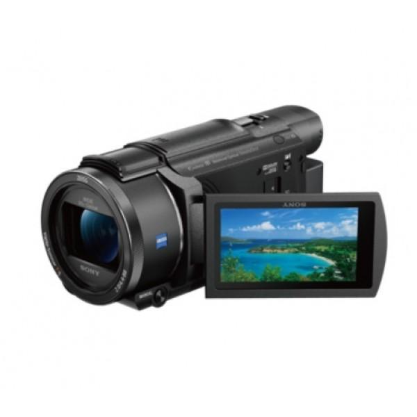 Видеокамера Sony FDR-AX53 4KВидеокамера 4K от Sony с 20-кратным оптическим зумом, сбалансированным оптическим стабилизатором изображения SteadyShot, быстрой интеллектуальной автофокусировкой, новым микрофоном для высококачественной записи окружающего звука и различными спецэффектами и ручным управлением как на профессиональных камерах — все это заключено в одном компактном корпусе.<br><br>Вес кг: 0.70000000