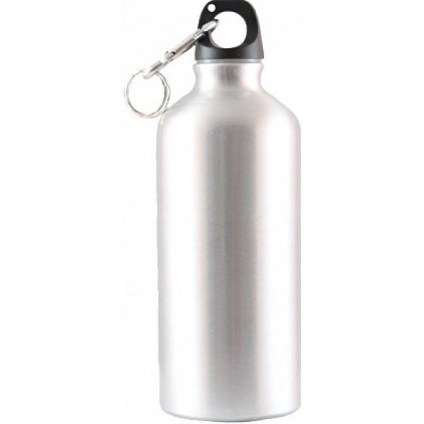 Бутылка питьевая Следопыт, алюм., с карабином, 750 мл.Бутылка питьевая Следопыт, алюминевая с карабином, 750 мл.<br>