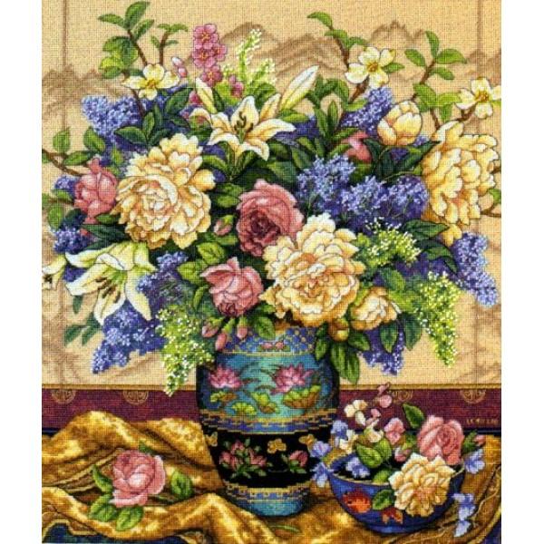 Dimensions Oriental Splendor (Роскошь Востока). Китай.35163Набор для вышивания Dimensions 35163 Oriental Splendor (Роскошь Востока)<br>