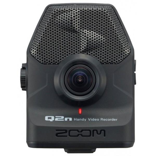 Видеорекордер ZOOM Q2nЕсли вы – амбициозный композитор или музыкант, то красивое видео играет важную роль в вашем успехе. В цифровую эпоху у каждого есть возможность показать свое творчество широкой аудитории и качественно снятое видео может стать залогом вашего успеха. Но нельзя снимать клипы на любую камеру. Вам нужна такая камера, которая сможет записать аудио в высочайшем качестве.<br><br>Рекордер Zoom Q2n позволит вам легко и быстро записывать HD-видео и аудио высочайшего качества. Встроенные X/Y микрофоны захватывают полноценную стерео картину происходящего. А 160-градусный широкоугольный объектив идеально справляется со съемкой при любом освещении – как в домашних условиях, так и в студии или в клубе.<br><br>С портативным рекордером Q2n вы наконец-то сможете записывать видео, которое будет одинаково качественно выглядеть и звучать – и все это по доступной цене. Разрешение 24-бит/96 кГц позволит вам записывать звук студийного качества, вне зависимости от того, где вы осуществляете съемку. Встроенные микрофоны типа X/Y выдерживают максимальный уровень звукового давления вплоть до 120 dB SPL, что позволяет избежать искажения звука и помех при записи.<br><br>Вес кг: 0.20000000