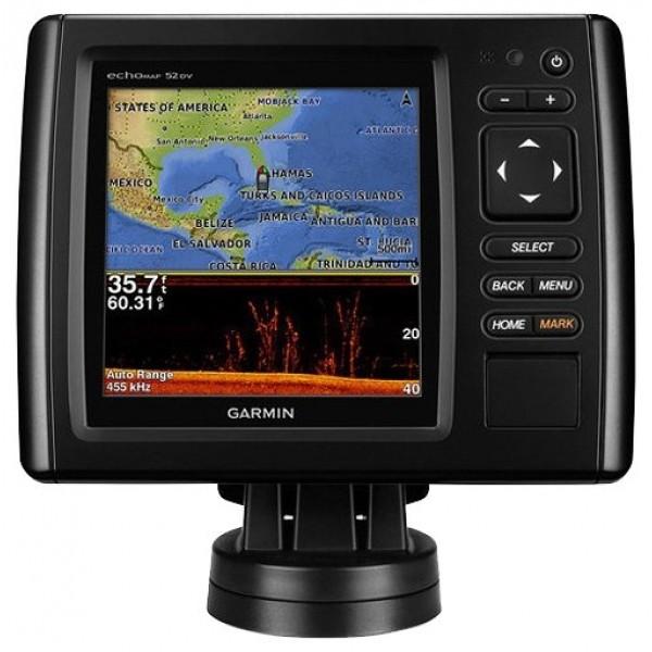 Эхолот-картплоттер Garmin echoMAP CHIRP 52cvКомбинированное устройство совмещающее в себе цветной картплоттер и продвинутый эхолот с трансдьюсером CHIRP и DownVu. Обновленный GPS/Glonass приемник позволяет картплоттеру Garmin echoMAP CHIRP 52CV обновлять данные о своем местоположении до пяти раз в секунду.<br><br>Возможности технологии CHIRP обеспечивают высокий уровень детализации благодаря отправке сигнала сразу на нескольких частотах. Это дает возможность получить больше информации за одну единицу времени по сравнению с привычными сонарами. Тем самым картинка на экране картплоттера с высочайшей точностью и четкостью отразит реальную обстановку под вашим судном.<br><br>Вес кг: 0.70000000