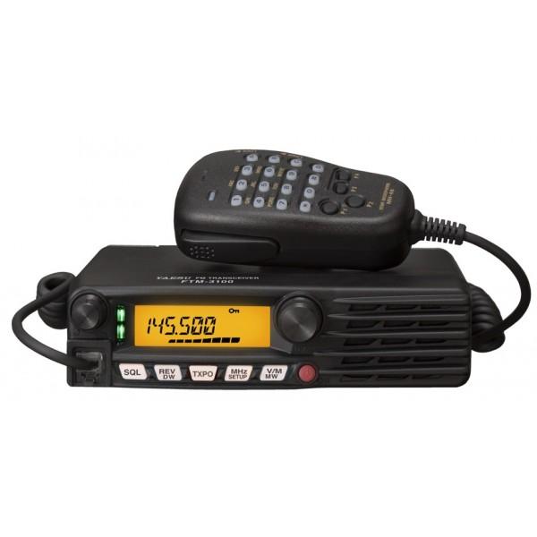 Радиостанция Yaesu FTM-3100RНовый аналоговый УКВ трансивер FTM-3100R имеет прочный и компактный корпус, высокую выходную мощность (до 65 Вт), что позволяет поддерживать стабильную связь на больших расстояниях. Одной из отличительных особенностей этого нового автомобильного трансивера является наличие 3 Ваттного громкоговорителя на передней панели, который обеспечивает громкий и кристально чистый звук даже в самых шумных условиях.<br><br>Новый аналоговый УКВ трансивер FTM-3100R имеет прочный и компактный корпус, высокую выходную мощность (до 65 Вт), что позволяет поддерживать стабильную связь на больших расстояниях. Одной из отличительных особенностей этого нового автомобильного трансивера является наличие 3 Ваттного громкоговорителя на передней панели, который обеспечивает громкий и кристально чистый звук даже в самых шумных условиях.<br><br>Мощный 65 Ваттный передатчик 2-х метрового диапазона обеспечивает устойчивую связь на большие расстояния даже в самых неблагоприятных условиях.<br><br>Встроенный 3-х Ваттный громкоговоритель, расположенный на лицевой панели радиостанции, позволяет с высоким качеством и хорошей громкостью вести приём сигналов корреспондентов даже в условиях самых шумных салонов автомобилей. В случае необходимости, возможно подключение внешнего выносного громкоговорителя MLS-100.<br><br>Современная инновационная система охлаждения тоннельного типа эффективно и надёжно защищает выходной каскад передатчика по тепловому режиму. Наружный воздух с помощью малошумящего вентилятора засасывается через широкое вентиляционное отверстие, расположенное в нижней части корпуса радиостанции и подаётся на радиоэлементы выходного каскада передатчика.<br><br>Вес кг: 1.30000000