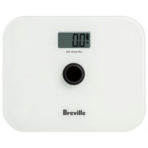 Напольные весы Breville N360Напольные весы Breville N360 – уникальная модель, не нуждающаяся в применении батарей. Она снабжена большой кнопкой включения, которая вырабатывает электрический разряд при нажатии. Одного импульса хватает для единичного взвешивания, что делает устройство очень удобным в использовании.<br><br>Платформа прибора изготовлена из ударопрочного закалённого стекла. Она выдерживает статические нагрузки до 150 килограммов и не растрескивается при случайном падении твёрдого предмета на её поверхность.<br><br>Современная методика измерения по данным четырёх датчиков позволяет получить погрешность не более 100 граммов во всём диапазоне.<br><br>Широкие резиновые ножки не допускают проскальзывания весов на влажной гладкой поверхности и падения человека.<br><br>Вес кг: 1.40000000