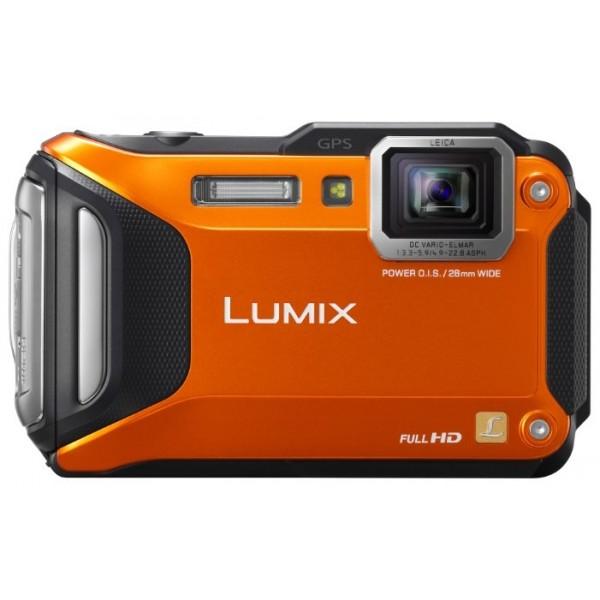 Фотоаппарат Panasonic Lumix DMC-FT5 подводный с GPSPanasonic Lumix DMC-FT5 – идеальный выбор для любителей вести съемку в экстремальных условиях. Сочетание супернадежного герметичного корпуса с великолепными техническими характеристиками позволят вам сохранить впечатления о путешествиях в виде фото и видео превосходного качества, где бы вы не отдыхали – в горах, в степи или на морском берегу.<br><br><br>Корпус DMC-FT5 защищен от всевозможных опасностей: попадания воды, пыли, падения с высоты, ударов, низкой температуры и даже давления в 100 кг. Вы сможете вести съемку под водой на глубине до 12 метров, не бояться падения камеры с двухметровой высоты и делать фото при морозе до – 10 градусов Цельсия.<br><br>Одно нажатие кнопки – и фотокамера DMC-FT5 перейдет из фоторежима в режим видесъемки, позволив вам делать видеоролики стандарта Full HD с разрешением 1920x1080 50p (PAL).<br><br>Фотоаппарат DMC-FT5 поддерживает функцию Цейтраферной съемки: делая кадры через определенные временные промежутки, вы можете снять уникальное видео мгновенно распустившегося цветка, мчащихся облаков, заката или восхода.<br><br>Модель DMC-FT5 оснащена встроенными NFC и Wi-Fi, благодаря чему вы сможете сразу же переносить отснятый материал на смартфон или планшет. Установив на свой мобильник приложение Panasonic Image App, вы получите возможность управлять камерой дистанционно.<br><br>Путешественникам пригодятся приятные бонусы, которыми обладает DMC-FT5: модули GPS и GLONASS, помогающие точно определить местонахождение, база данных о достопримечательностях, а также барометр, компас и альтиметр.<br><br>Цифровая фотокамера Panasonic LUMIX DMC-FT5 имеет MOS-сенсор с разрешением 16,1 Мп, широкоугольный объектив с фокусным расстоянием 28 мм и оптический 4,6x зум. Интеллектуальный ЖК-дисплей с диагональю 3,0x защищен антибликовым покрытием.<br><br>Вес кг: 0.20000000