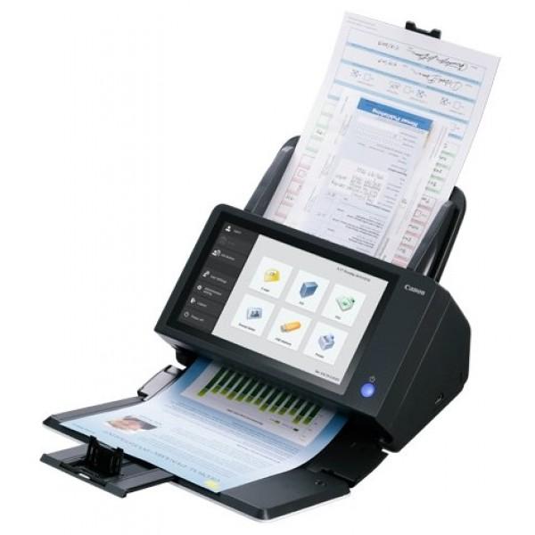 Сканер Canon ScanFront 400 (1255C003) A4 черныйScanFront 400 — это производительный настольный сетевой сканер, который обеспечивает быстрое, простое и надежное сканирование документов различных форматов и типов в нужное место назначения нажатием всего нескольких кнопок — без необходимости использовать ПК или программное обеспечение.<br><br>Вес кг: 4.50000000