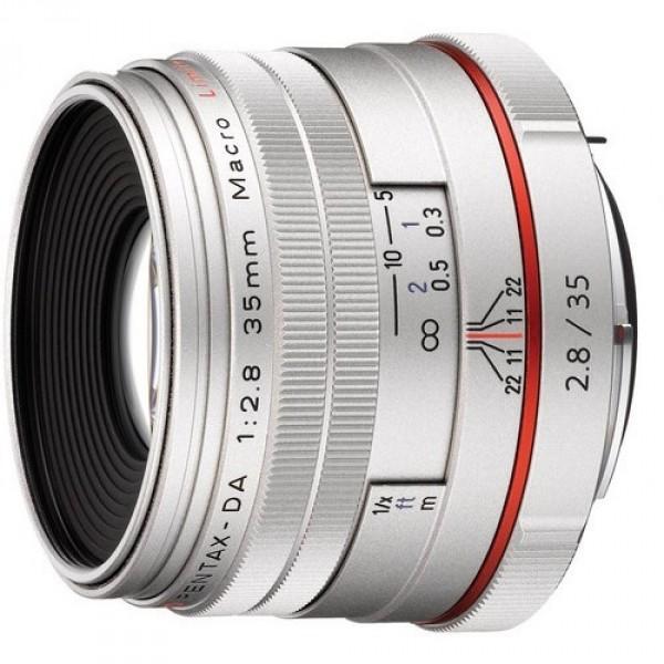 Объектив Pentax SMC DA 35mm f/2.8 Macro Limited HDмакрообъектив с постоянным ФР, крепление Pentax KA/KAF/KAF2, для неполнокадровых фотоаппаратов, ручная фокусировка, размеры (DхL): 63x46.5 мм, вес: 215 г<br><br>Вес кг: 0.30000000