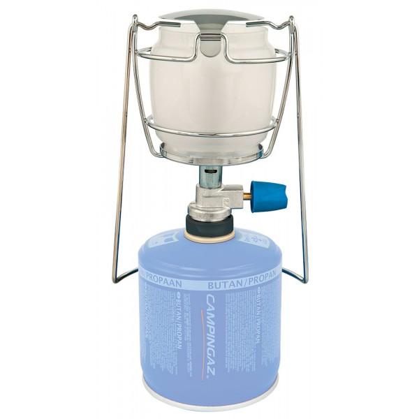Лампа газовая Campingaz Lumogaz PlusГазовая лампа LUMOSTAR® PLUS: мощность: 80 Вт; время работы на 1 газовом картридже: СV 270 Plus - 6 ч., CV 300 Plus – 6,3 ч., CV 470 Plus - 12 часов; вес: 280 гр.<br><br>Вес кг: 0.40000000