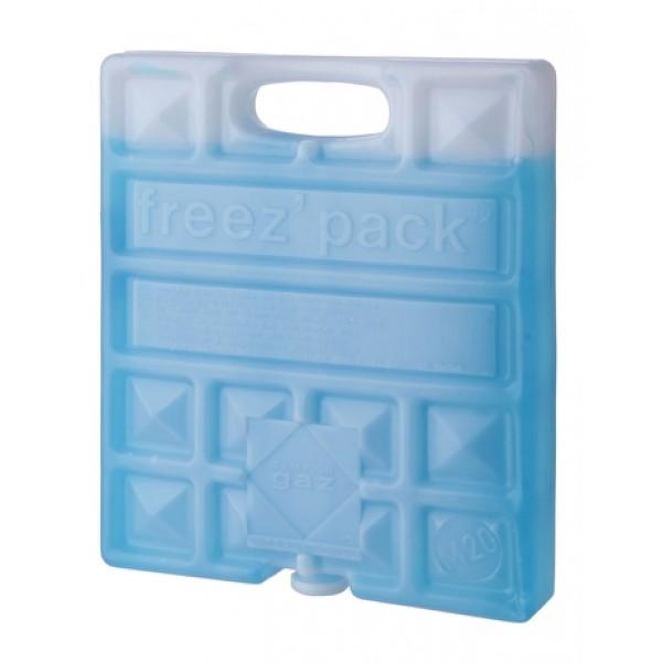 Аккумулятор холода Campingaz FreezPack M20 IceЗаменитель льда малого размера, для пищевых продуктов, нетоксичное наполнение, многоразового использования, можно хранить в морозильнике, без ограничения срока годности. Вес: 600 гр.<br><br>Вес кг: 0.60000000