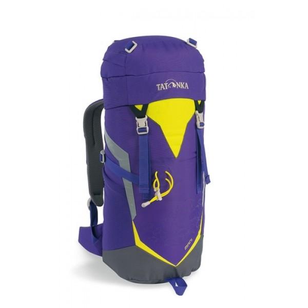Рюкзак Tatonka Mani lilacТрекинговый рюкзак для юных путешественников. Смягченная несущая система рюкзака приспособлена к телосложению ребенка, а спортивный дизайн делает его взрослым.<br><br><br>Несущая система Padded Back<br><br>Держатель для трекинговой палки<br><br>S-образный плечевой ремень<br><br>Регулируемый по высоте нагрудный ремень<br><br>Боковые утягивающие ремни<br><br>Удобная ручка<br><br>Карман на молнии в крышке рюкзака<br><br>Основное отделение на шнуровке<br><br>Боковые сетчатые карманы<br><br>Табличка для имени внутри рюкзака<br><br>Яркие светоотражающие элементы повышаю безопасность<br><br>Вес кг: 0.60000000