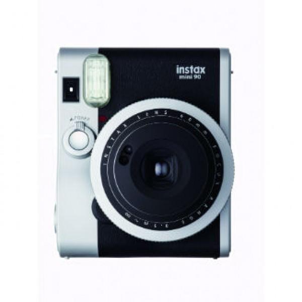 Фотоаппарат моментальной печати Fujifilm Instax Mini 90 Neo Classic Black/SilverКамера instax mini 90 имеет расширенные функции, которые привлекали любителей фотографии в традиционных аналоговых камерах. Среди этих функций длинная и двойная экспозиция, а также дополнительные возможности по захвату света. В модели instax mini 90, созданной в рамках концепции «NEO CLASSIC», также предусмотрены такие новые возможности, как макрорежим и высокопроизводительная вспышка, что делает эту камеру подходящей для любого фотографа.<br><br>Вес кг: 0.40000000