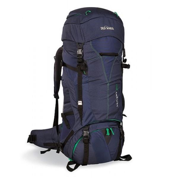 Рюкзак Tatonka Yukon 80 navyВысокотехнологичный рюкзак для продолжительных походов. Регулируемая система подвески V2 оптимально распределяет нагрузку на бедра. Спинка с мягкой подкладкой, обтянутая терморегулирующей сеточкой Airmesh, обеспечивает комфорт и вентиляцию при длительных переходах.<br><br><br>Подвеска V2.<br><br>Регулируемая крышка-клаан.<br><br>Мягкие регулируемые лямки и набедренный пояс.<br><br>Дополнительный доступ в основное отделение.<br><br>Большой передний карман на молнии.<br><br>Боковые карманы.<br><br>Боковые стяжки.<br><br>Ручки для переноски.<br><br>Крепление для ледоруба.<br><br>Дождевой чехол.<br><br>Отделение для питьевой системы.<br><br>Отделение для аптечки.<br><br>Держатель для ключей.<br><br>Вес кг: 3.70000000