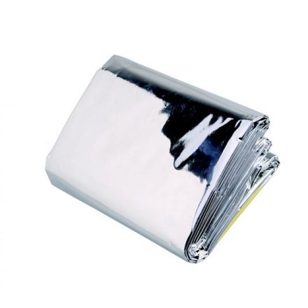 Спальный термо мешок Acecamp 3807 для выживанияПроклеенные швы. Обеспечивает весь охват тела. Отражает и сохраняет почти 100% тепла тела. Используется отдельно, а так же внутри или снаружи основного спальника.<br><br>Вес кг: 0.10000000