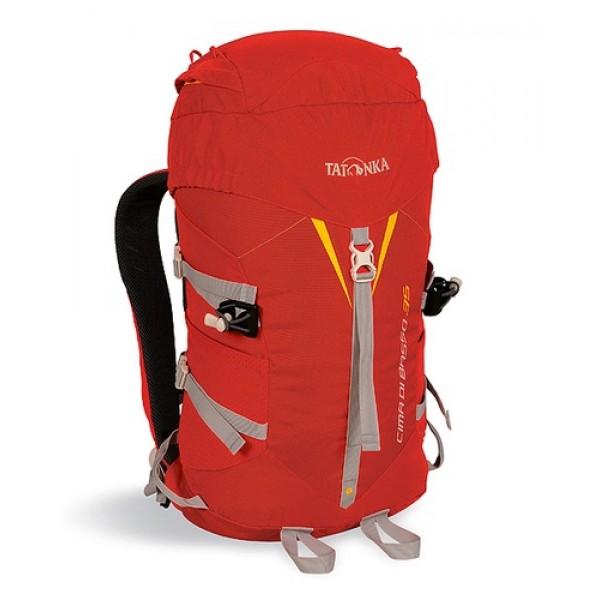 Рюкзак Tatonka Cima di Basso 35 redЛегкий горный рюкзак. Отлично подходит для восхождений и короткого треккинга. Подвеска Padded Back и съемный поясной ремень обеспечивают отличную фиксацию рюкзака на спине. Боковые стяжки позволяют закрепить на рюкзаке веревку. Предусмотрено два места для крепления палок или ледоруба.<br><br><br>система подвески Padded Back<br><br>съемный поясной ремень<br><br>держатели для ледоруба<br><br>клапан в крышке рюкзака<br><br>боковые стяжки<br><br>Вес кг: 0.90000000
