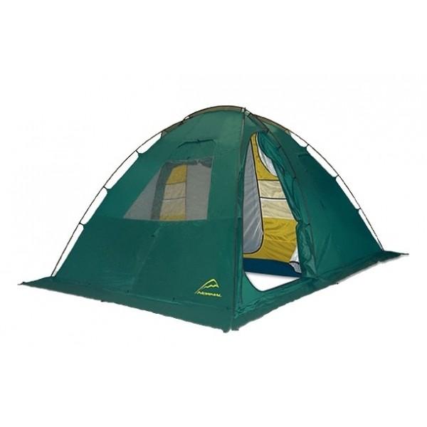 Палатка Normal Байкал 4 ЛюксКомфортная кемпинговая палатка для четырех человек, которая может быть установлена и без оттяжек (в безветренную погоду). Тент палатки не «провисает» и не «вдувается» внутрь благодаря шестигранной конфигурации. Конструкция данной модели позволяет использовать тент без внутренней палатки.<br><br>Вес кг: 10.00000000