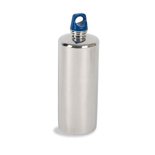 Фляга Tatonka Stainless Bottle 1000mlФляжка из нержавеющей стали, абсолютно устойчивая к кислотам, содержащимся во фруктовых соках. Практичная завинчивающаяся крышка с кольцом креплением.<br><br>Вес кг: 0.30000000