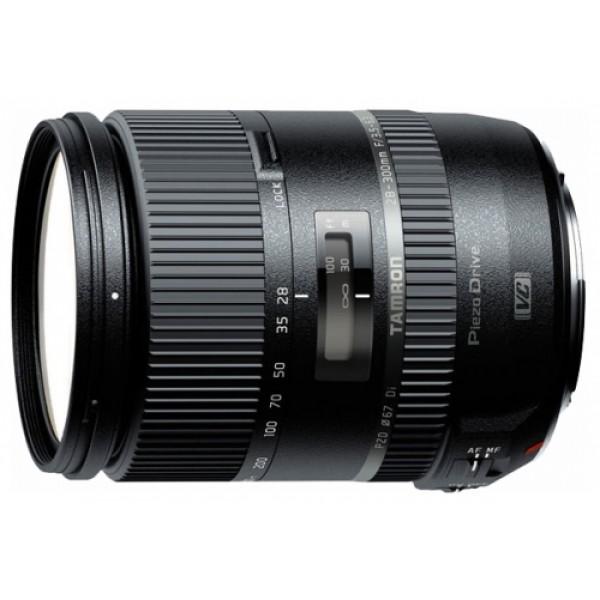 Объектив Tamron 28-300mm f/3.5-6.3 Di VC PZD (A010E) Canon EFОбъектив Tamron AF 28-300mm f/3.5-6.3 DI VC PZD Canon – компактный, длиннофокусный зум-объектив «все в одном», предназначен для полнокадровых зеркальных камер. Объектив предоставляет отличные возможности для съемок крупных планов и макросъемки, позволяет получать эффектные портреты на размытом фоне, подходит для съемки различных спортивных состязаний, а также хорошо фокусируется в темноте.<br><br>Вес кг: 0.60000000