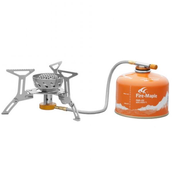 Горелка газовая Fire-Maple Spark FMS-121 с ветрозащитойВетрозащитная складная горелка для туристических походов с кремнём в комплекте. Продвинутая ветрозащитная головка освобождает от необходимости дополнительно брать противоветровые заслоны без потери высокого теплового КПД.<br><br>Вес кг: 0.40000000