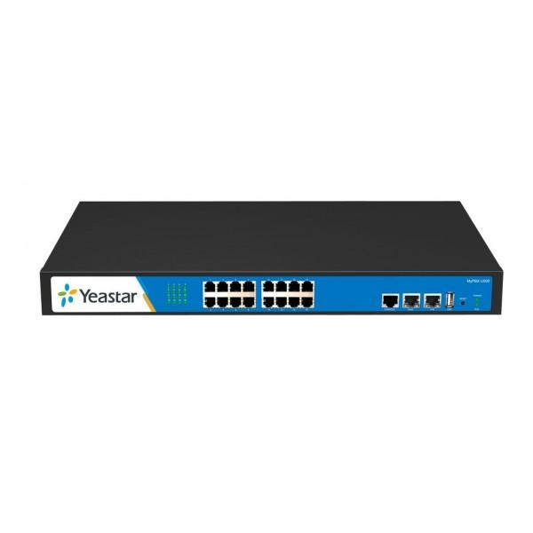 IP АТС Yeastar MyPBX U500Yeastar MyPBX U500 – это гибридная IP-АТС, оснащенная ARM-процессором от компании Texas Instruments, который позволяет добиться быстродействия, стабильной работы и непревзойденного качества передачи голоса и видео! Новая гибридная АТС имеет ёмкость до пятисот внутренних абонентов и позволяет совершать до восьмидесяти одновременных вызовов.<br><br>Вес кг: 3.20000000