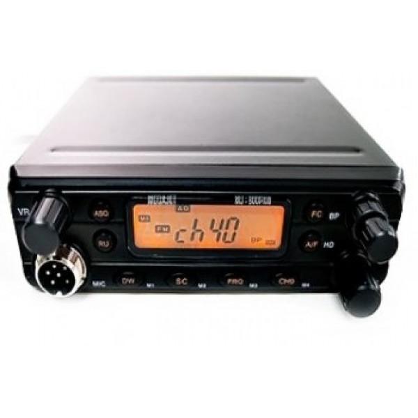 Радиостанция Megajet MJ-650 автомобильнаяОтличительной особенностью данной радоистанции можно назвать регулятор чувствительности применика, возможность перехода в режим 45 каналов в сетке вместо 40 (открытие дырок), автошумоподавление, 0, 5<br>
