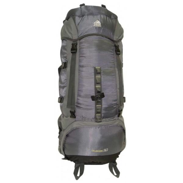 Рюкзак Trek Planet Colorado 80 greyУнисекс трекинговый, анатомическая система, объем 80 л, доступ к основному отделению снизу<br><br>Вес кг: 2.50000000