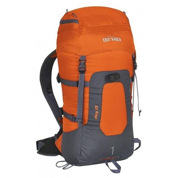 Рюкзак Tatonka Airy 25 brick/carbonУльтралегкий горный рюкзак. Для изготовления рюкзака применяется инновационный материал T-Rip Light, который, благодаря многократному покрытию из полиуретана/силикона , обладает максимальной эластичностью и прочностью при минимальной толщине и весе материала. Airy 25 имеет все необходимое оснащение горного спортивного рюкзака, а подвеска Padded Back гарантирует отличную фиксацию и распределение груза на спине.<br><br><br>Подвеска Padded Back.<br><br>Поясной ремень с кармашками.<br><br>Дождевой чехол.<br><br>Петли для крепления ледоруба и дополнительного снаряжения.<br><br>Боковой доступ в основное отделение.<br><br>Боковые стяжки.<br><br>Отделение для аптечки.<br><br>Держатель для ключей.<br><br>Вес кг: 0.80000000