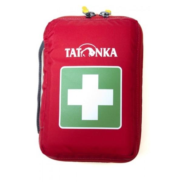 Аптечка Tatonka First Aid Insulation SАптечка со специальными плотными стенками. Находящиеся внутри медикаменты в стеклянных ампулах или бутылочках надежно защищены от ударов. Внутренние стенки аптечки выполнены из металлизированного материала. Благодаря этому аптечка работает как термосумка: какое-то время температура находящихся внутри медикаментов останется неизменной.<br><br><br>молния по периметру<br><br>два бегунка на молнии<br><br>петли для крепления на пояс<br><br>удобные кармашки внутри<br><br>прочный материал<br><br>Вес кг: 0.30000000