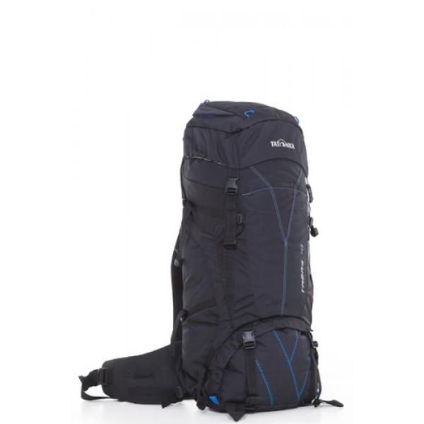 Рюкзак Tatonka Tamas 70 blackВместительный рюкзак среднего объема. Отличный выбор для походов на байдарках - алюминиевые шины легко вытаскиваются из спины рюкзака и рюкзак можно компактно сложить и убрать в лодку.<br><br>Система переноски: Y1<br>Широкий поясной ремень<br>Лямки регулирются по высоте, длине и плотности прилегания к рюкзаку<br>Крышка рюкзака регулируется по высоте<br>Рюкзак имеет 2 отделения<br>Доступ в основное отделение сверху и в центральной части<br>Съемное отедление между отделениями<br>Шины жесткости легко снимаются<br>Крепление для ледорубов и трекинговых палок<br>Карман в крышке рюкзака<br>Нагрудный ремень<br>Утягивающие ремни по бокам<br><br>Вес кг: 2.20000000