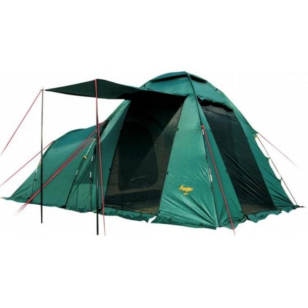 Палатка Canadian Camper HYPPO 3 кемпинговаяHYPPO 3 - самая популярная туристическая палатка с относительно небольшим весом, и главное, ценой. Модель легка в установке, вместительна и просторна.<br><br>Одна спальня, большой и высокий тамбур-прихожая с тремя входами, двери которых имеют антимоскитные сетки по всей площади. В жаркую погоду Вы можете открыть все двери палатки, оставив только антимоскитные сетки в их проемах. Дверь тамбура можно использовать как дополнительный козырек над входом.<br><br>Для улучшения вентиляции палатка имеет верхнее вентиляционное окно, также дополнительное окно имеет спальное отделение. Все окна оснащены антимоскитными сетками. Возможно использование тента без спального отделения.<br><br>Вес кг: 7.60000000