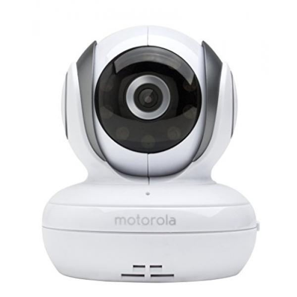 Дополнительная камера Motorola MBP36SBU для модели MBP36SДополнительная камера Motorola MBP36SBU (для модели MBP36S)<br><br><br>Беспроводная технология FHSS 2,4 Ггц;<br><br>Возможность подключения до 4-х дополнительных камер, изображение с которых одновременно выводится на один дисплей;<br><br>Функция автоматического переключения изображения между несколькими камерами;<br><br>Дистанционное масштабирование, изменение положения и угла наклона камеры;<br><br>Радиус действия между дополнительной камерой и родительским блоком до 300м;<br><br>Инфракрасный ночной режим;<br><br>5 полифонических колыбельных;<br><br>Двусторонняя связь;<br><br>Высокочувствительный микрофон.<br>