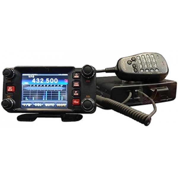 Радиостанция Yaesu FTM-400XDR автоYaesu FTM-400DR — автомобильная радиостанция Yaesu с сенсорной панелью и возможностью отправки снимков одним касанием. Рация использует любительские диапазоны частот, имеет несколько режимов приема и возможность перехода на автоматический выбор режима. Также радиостанция снабжена слотом под micro SD и микрофоном. Приемников два, независимые.<br><br>Вес кг: 1.30000000