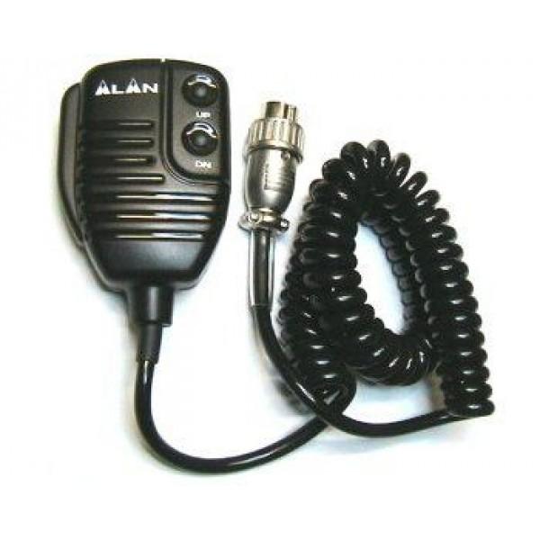 Тангента Alan MR 120 для (АЛАН-78+/48+/48excel)Тангента Alan MR120 оснащена кнопкой ответа/вызова, клавишами вверх, вниз(переключение каналов) и витым кабелем с шести штырьковым коннектором, для подсоединения к радиостанции. Тангента Алан МР120 подходит для радиостанций Alan 78 Plus, 48 plus, 48 Excel.<br>