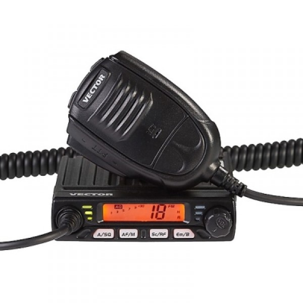 Радиостанция Vector VT-27 Smart АвтоVector VT-27 Smart — автомобильная радиостанция Vector СБ-диапазона с модуляцией AM / FM. Память ProMem (10 ячеек, программируемых, энергонезависимых). Корпус очень компактный, прочный, вместе с микрофоном конструкция весит менее 300 грамм. Искажения аудиосигнала рации Vector VT-27 Smart составляет меньше 8% на кГц, высокая селективность и подавление соседнего сигнала. Двойное преобразование частот обеспечивает также более чистый и точный сигнал. Сканирование не останавливается режимом диалога, только на время прерывается. В наличии клавиша переключения аварийных каналов. Шумоподавитель автоматический спектральный и ручной.<br><br>Вес кг: 0.30000000