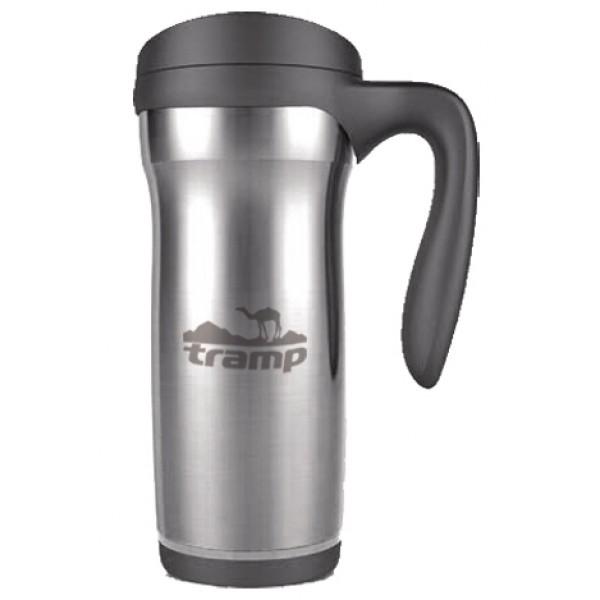 Термокружка Tramp PRO TRC-073Термокружка - долго сохраняет тепло. Крышка-поилка из термостойкого пластика предохраняет от проливания жидкости и не дает напитку остыть. Из кружки легко пить во время поездки на автомобиле или поезде<br>