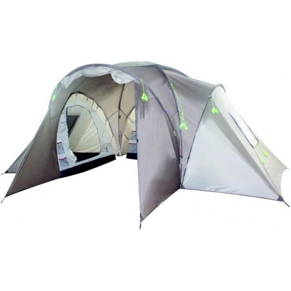Палатка Talberg Delta 6Трёхкомнатная двухслойная кемпинговая палатка. Мест: 6. Вес: 15 кг. Конструкция: трёхкомнатная палатка с одним входом и убирающимся<br>тентом-козырьком<br><br>Вес кг: 15.10000000