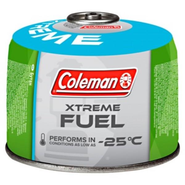 Газовый картридж Coleman C300 Xtreme до -27СГазовый картридж резьбового типа для газового оборудования Coleman® и других производителей. Содержит 240 гр газа ( а не 220 гр как в С250 ) С повышенным содержанием Пропана для большей мощности , использования при низких температурах и в условиях высокогорья<br>