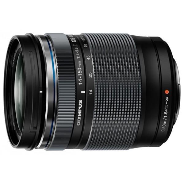 Объектив Olympus ED 14-150mm f/4.0-5.6 IIстандартный Zoom-объектив, крепление Micro Four Thirds, автоматическая фокусировка, минимальное расстояние фокусировки 0.5 м, размеры (DхL): 63.5x83 мм, вес: 280 г<br><br>Вес кг: 0.40000000