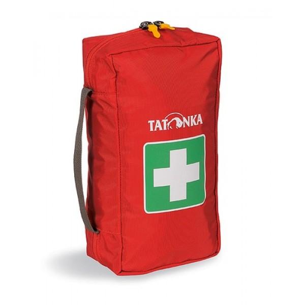 Аптечка Tatonka First Aid LВместительная походная аптечка (без содержимого). Аптечка удобно раскладывается, имеет множество кармашков внутри, молнию по периметру и петли для крепления на пояс.<br><br>Вес кг: 0.30000000