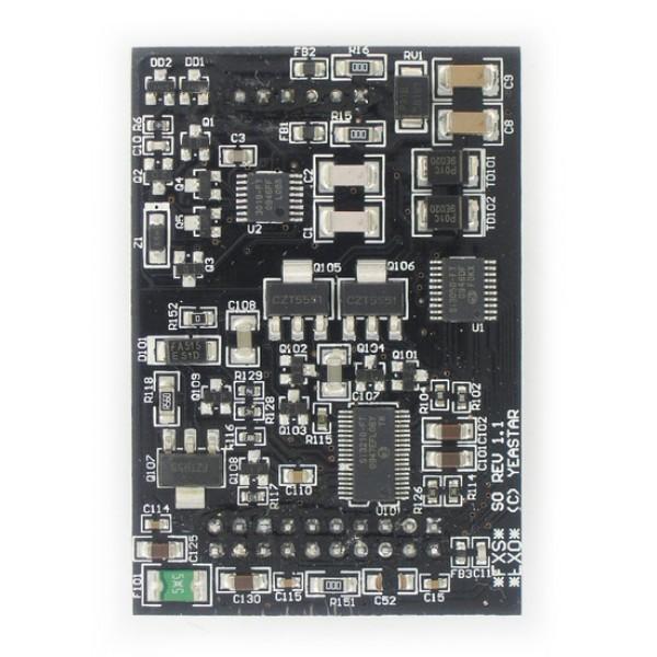 Модуль расширения Yeastar SOМодуль с 1-м портом FXO для подключения внешней телефонной линии и с 1-м портом FXS для подключения аналогового телефона. Тип набора: тональный. Модуль имеет уникальную резервную функцию! Переключается в режим «Моста» при неработоспособности системы, соединяя напрямую аналоговый телефон с внешней телефонной линией. Предназначен для работы со всеми IP-АТС Yeastar, кроме MyPBX U300 и N824, и с интерфейсными платами TDM800, TDM800E и TDM1600.<br>