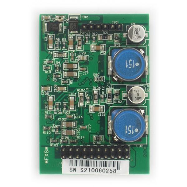 Модуль расширения Yeastar S2Модуль с 2-мя портами FXS для подключения 2-х аналоговых телефонов.<br><br>Тип набора: тональный.<br>Предназначен для работы со всеми IP-АТС Yeastar, кроме MyPBX U300 и N824,  и с интерфейсными платами TDM400, TDM800, TDM800E и TDM1600.<br>