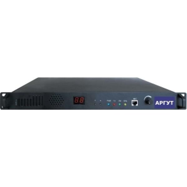 Репитер Аргут А-701А-701 dPMR - изделие, позволяющее осуществлять продолжительную, двухстороннюю радио связь в широком диапазоне частот. Цифровой ретранслятор (репитер) стандарта dPMR (digital PMR) предназначен для увеличения радиуса уверенной зоны радиосвязи при использовании радиостанций стандарта dPMR. Для вещания в стандарте dPMR используется метод частотного разделения канала FDMA, когда вместо одного канала шириной 12,5 кГц получаем два канала по 6,25 кГц. Фактически обеспечивается удвоение числа каналов, независимо от используемого режима работы будь то peer-to-peer (станция-станция, без услуг ретранслятора) или при использовании ретранслятора (станция-ретранслятор-станция). Основное преимущество dPMR перед аналоговой профессиональной связью (PMR) состоит в более эффективном использовании частотного спектра.<br>