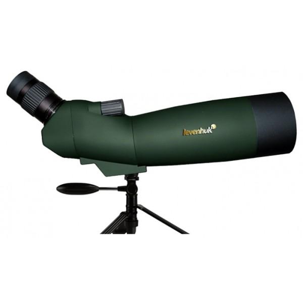 Зрительная труба Levenhuk Blaze 60 PLUSЗрительная труба, увеличение 20-60x, диаметр объектива 60 мм, выходной зрачок 1-3 мм, поле зрения (на 1000 м): 20-45 м, заполнение инертным газом, минимальная дистанция фокусировки 10 м<br>