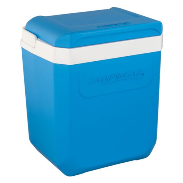 Контейнер изотермический Campingaz Icetime Plus 30LИзотермические контейнеры ICETIME® PLUS. Легкие и удобные для транспортировки.<br><br><br>Объем 30 л<br><br>Держат холод до 25 часов при использовании аккумуляторов холода Freez Packs<br><br>Эргономичная ручка, запирающаяся крышка<br>