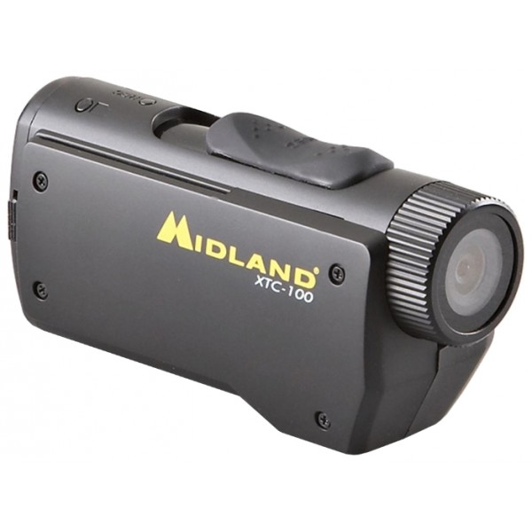 Экшен-Камера Midland XTC-100Midland XTC-100 - видеокамера с широким углом обзора для записи самых ярких моментов вашего активного отдыха. Камера осуществляет запись видео и звука и оснащена слайд переключателем для управления процессом включения/выключения питания и записи.<br><br>Камера Midland XTC-100 может быть использована во время самых разнообразных видов активного отдыха благодаря нескольким креплениям, поставляемым в комплекте: крепеж на горнолыжные очки, крепежи для различных типов шлемов, крепеж на руль.<br><br>Вес кг: 0.10000000