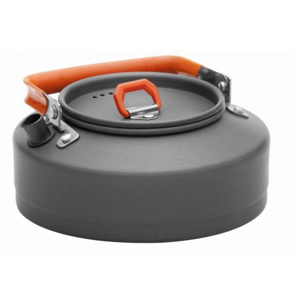 Чайник 0,8 л Fire-Maple FMC-T3 походныйЯркий чайник интересного дизайна FEAST T3 сделан из анодированного алюминия. Ручка чайника и ручка крышки имеет термоизолирующие элементы для сохранения вашей безопасности от ожогов. Крышка чайника имеет пароотводящие отверстия. Носик чайника с направляющей выемкой, для точного наливания кипятка. Чайник весит лишь 182 г. Компактный, прочный, легко моется.<br><br>Вес кг: 0.30000000