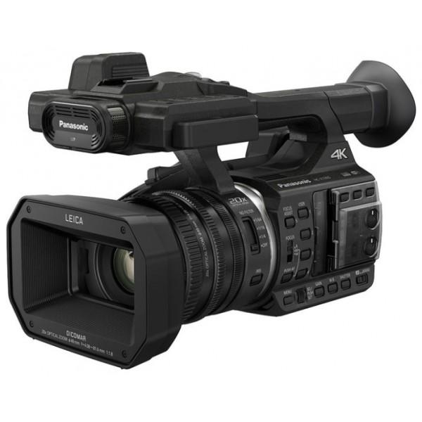 Видеокамера Panasonic HC-X1000E 4KВидеокамера с 20x зумом, матрица 8.85 МП (1/2.3), Wi-Fi, оптический стабилизатор изображения, вес: 1550 г<br><br>Вес кг: 1.60000000