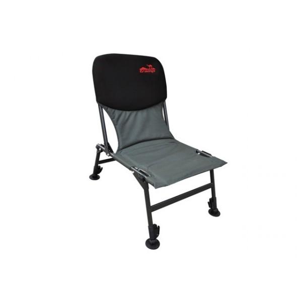 Кресло Tramp TRF-033 Fisherman LightСкладное кресло удобно для отдыха, легко складывается и занимает минимум места при транспортировке. Спинка покрыта неопреном. Регулируемые ножки увеличенной площади.<br>