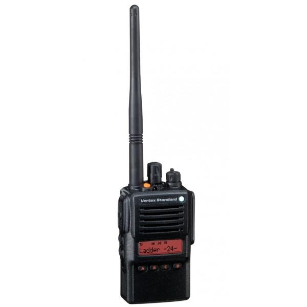 Радиостанция Vertex VX-824E UHF/VHF (LI-ION 2000 mAH)Взрывобезопасная рация Vertex VX-824E ATEX обладает миниатюрными размерами и небольшим весом, работает в диапазоне частот 400-470 МГц, поддерживает до 512 каналов (32 группы по 16 каналов) и имеет мощность передатчика 1 Вт. Радиостанция Vertex VX-824E ATEX обладает семью программируемыми клавишами, различными режимами сканирования, функцией одинокий работник, возможностью клонирования настроек раций, возможностью использования CTCSS и DCS кодирования, встроенным инверсным шифрованием и многими другими функциями и возможностями. Благодаря наличию дисплея на Vertex VX-824E ATEX вы сможете настраивать функционал радиостанции, а также следить за настройками и состоянием аккумулятора. Отличительно особенностью Vertex Standard VX-824E ATEX является водонепроницаемый корпус, выполненный по стандарту IP57, что гарантирует вам работоспособность рации при погружении в воду в течение 30 минут на метровую глубину. В данной комплектации Vertex VX-824E ATEX поставляется литиевый аккумулятор емкостью 1500 мА, что обеспечивает работу рации без подзарядки в течение 12-14 часов, также плюсом данного аккумулятора является возможность заряжать его в любой момент.<br><br>Вес кг: 0.40000000