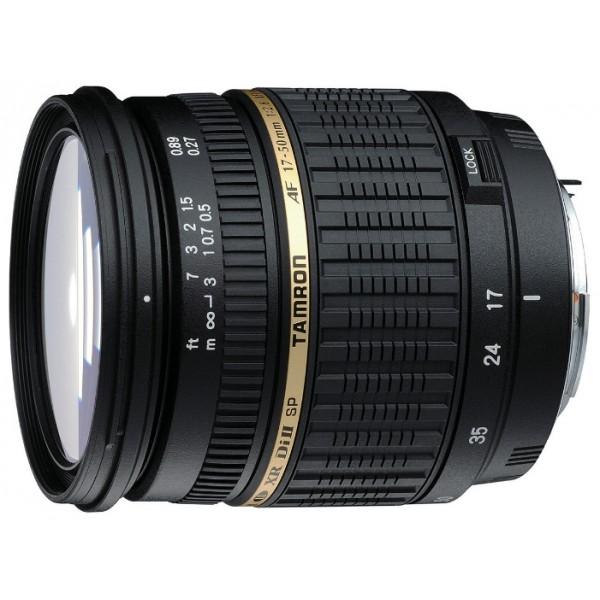 Объектив Tamron SP AF 17-50mm f/2.8 XR Di II LD Aspherical (IF) (A16S) Minolta ATamron SP 17-50mm F/2,8 XR Di II LD ASL [ IF] – новый легкий и быстрый стандартный зум-объектив, спроектированный специально для цифровых зеркальных фотокамер. Этот объектив задумывался как продолжатель традиций Tamron SP AF 28-75mm F/2.8 XR Di LD Aspherical [ IF] MACRO.<br><br>Важное преимущество объектива Tamron 17-50 – его диафрагма f/2.8. Это дает возможность художественного размытия заднего плана (боке), позволяя сосредоточить внимание только на объекте съемки, например, при съемке портретов. Этот объектив также обеспечивает очень хорошие возможности при съемке с близкого расстояния (среди стандартных зумов с большим относительным отверстием). Обратите внимание на то, что фотограф может использовать диафрагму f/2.8 на всем диапазоне фокусных расстояний, что встречается не так часто в объективах этого класса. Tamron 17-50 спроектирован специально для использования с цифровыми зеркальными фотокамерами (в обозначении – Di II). Это говорит о том, что при максимальном качестве оптики, присущем объективам серии Di, объективы серии Di II обладают меньшим весом и более компактны.<br><br>Вес кг: 0.50000000